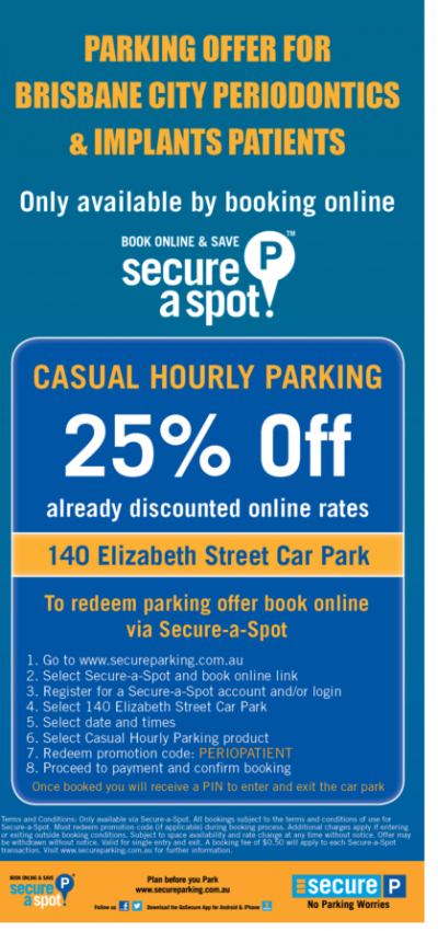 2018 Parking Flyer